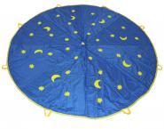 Schwungtuch 3 m mit Monden & Sternen