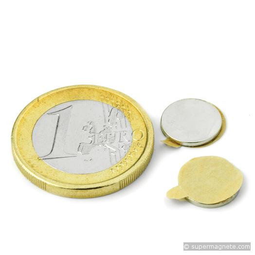 Scheibenmagnet Ø 10 mm