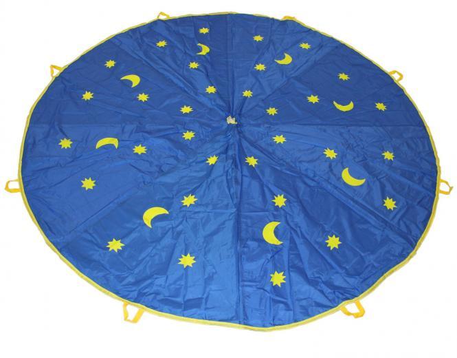Schwungtuch 1,8 m mit Monden & Sternen