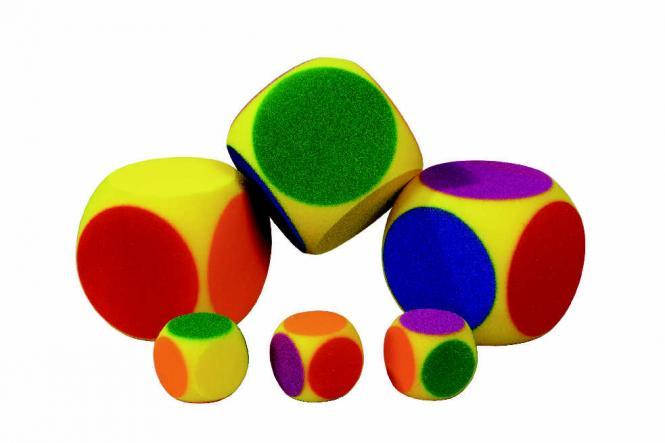 VOLLEY® Sechs-Farben-Würfel (klein)